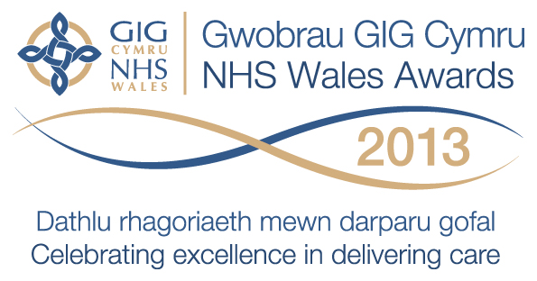 NHS Wales Awards logo